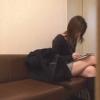 長身スレンダーな美脚主婦ユウコさん(26) ~待合室~ 新・婦人科診察のすべてFile02-A