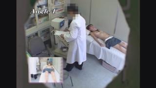 先生にエコー診察でスカートとパンツを下されちょっと恥ずかしい21歳巨乳女子大生ケイコさん レディースクリニック検診隠し撮り No.13