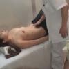 ~横になっても型崩れしない張りの巨乳・26歳OLクミさん~ ワイセツ婦人科医の過剰診察記録 #File18-B  エコー検査編
