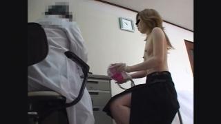 鬼畜の産婦人科診察隠し撮り File01-A 23歳ちっぱい美乳OLノリエさん 不整出血 問診
