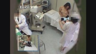 なかなか美乳なOLリカさん(24歳)のエコー診断 レディースクリニック検診隠し撮り No.22