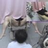 21歳・接客業 カオリさん ~内診台診察(前半)~ 婦人科診察のすべて File01-b