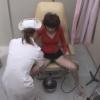 フリーター トモコさん(24)の開脚内診台診察(前半)・・・ 婦人科診察のすべて File19-b