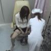 開脚内診台診察(前半)女子大生アキさん(24)・・・ 婦人科診察のすべて File25-b