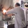 【内診台診察・妊娠検査】23歳主婦の明美さん 関西有名産婦人科マル秘盗撮8 内診台診察編