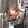 【内診台診察】美人な黒髪人妻由梨さん(27) 関西有名産婦人科マル秘盗撮11 内診台診察編